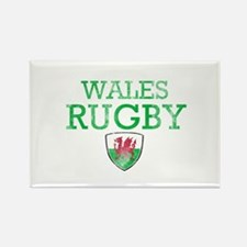 Wales Rugby designs Rectangle Magnet (100 pack)