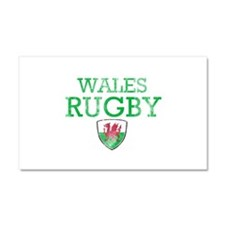 Wales Rugby designs Car Magnet 20 x 12