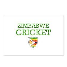 Zimbabwe Cricket designs Postcards (Package of 8)