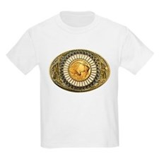 Indian gold oval 1 T-Shirt