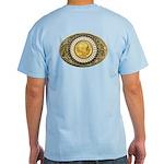 Indian gold oval 1 Light T-Shirt