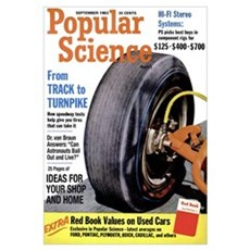 Popular Science Cover, September 1963 Canvas Art