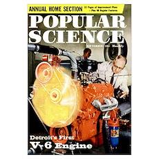 Popular Science Cover, September 1959 Poster