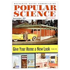 Popular Science Cover, September 1955