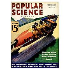Popular Science Cover, September 1936 Poster