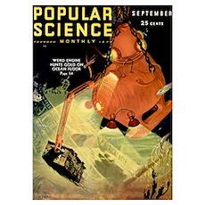 Popular Science Cover, September 1931 Poster