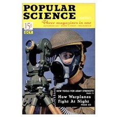 Popular Science Cover, October 1941 Poster