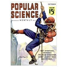 Popular Science Cover, October 1936 Poster