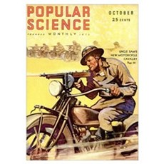 Popular Science Cover, October 1931 Poster