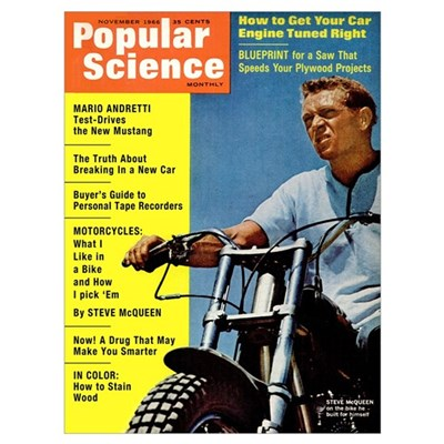 Popular Science Cover, November 1966 Framed Print