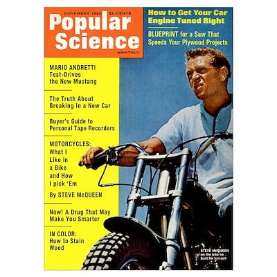 Popular Science Cover, November 1966 Poster