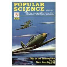 Popular Science Cover, November 1941 Poster