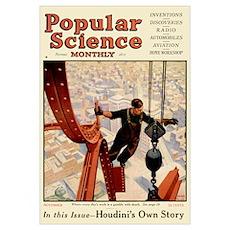 Popular Science Cover, November 1925 Poster