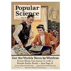 Popular Science Cover, November 1921 Poster