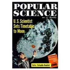 Popular Science Cover, May 1958 Canvas Art