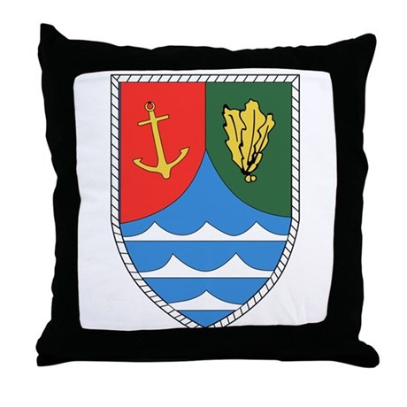 Jagerbataillon 116 Throw Pillow