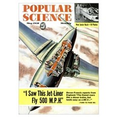 Popular Science Cover, May 1950 Poster