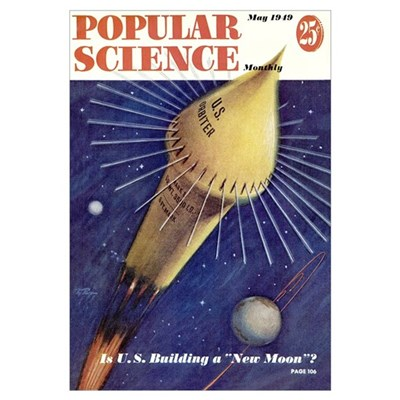 Popular Science Cover, May 1949 Poster
