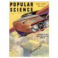 Popular Science Cover, May 1931 Poster
