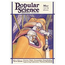 Popular Science Cover, May 1929 Poster