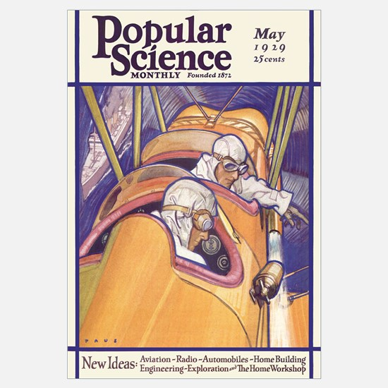 Popular Science Cover, May 1929