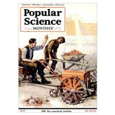 Popular Science Cover, May 1921 Poster