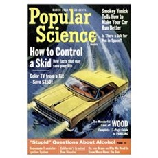 Popular Science Cover, March 1964 Poster