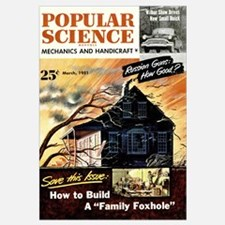 Popular Science Cover, March 1951