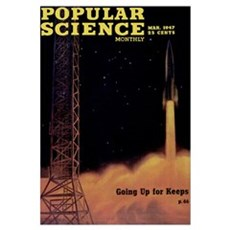 Popular Science Cover, March 1947 Canvas Art