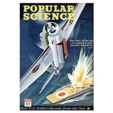 Popular Science Cover, March 1943 Poster
