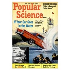 Popular Science Cover, June 1963 Canvas Art