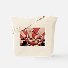 COLD WAR RETRO ROBOT Tote Bag