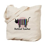 Retired teacher Canvas Totes