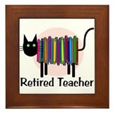 Retired teacher Framed Tiles