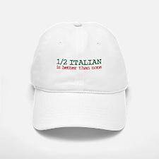 1/2 Italian Baseball Baseball Cap