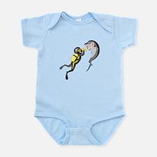 Shark Diver Infant Bodysuit