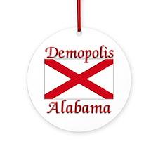 Demopolis Alabama Ornament (Round)