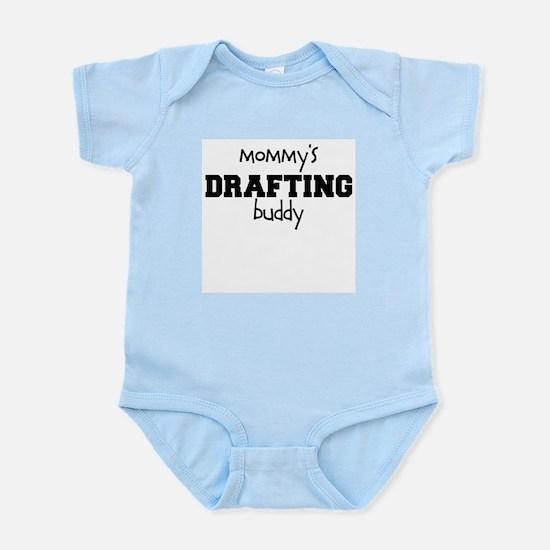 Mommys Drafting Buddy Baby Bodysuit