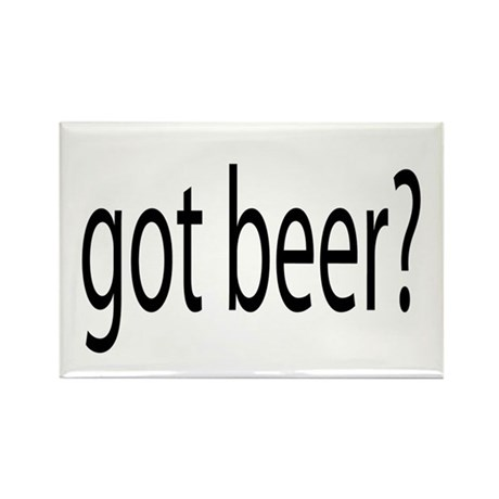 Got beer? Rectangle Magnet