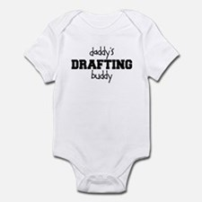 Daddys Drafting Buddy Baby Bodysuit