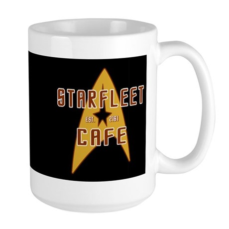 Starfleet Cafe Large Mug