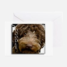 Chocolate Doodle Greeting Cards (Pk of 10)