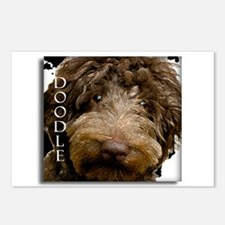 Chocolate Doodle Postcards (Package of 8)