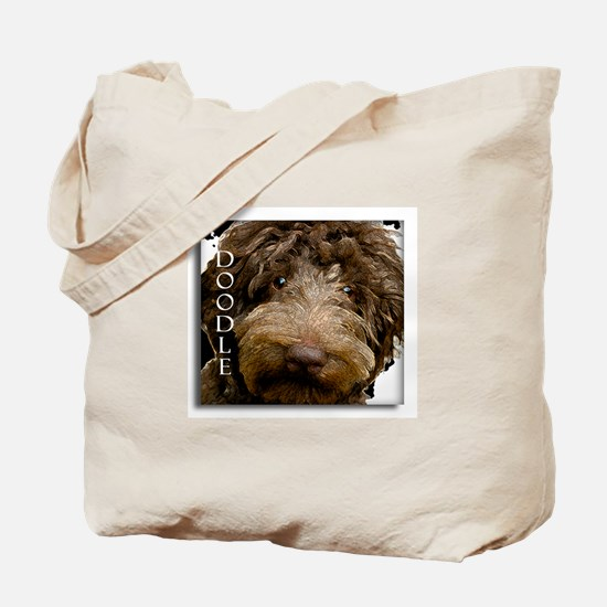 Chocolate Doodle Tote Bag