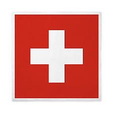 Flag of Switzerland Queen Duvet