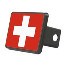 Flag of Switzerland Hitch Cover