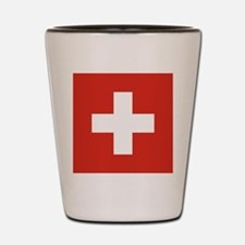 Flag of Switzerland Shot Glass