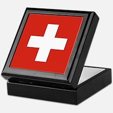 Flag of Switzerland Keepsake Box
