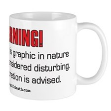 Golf Swing WARNING! Mug