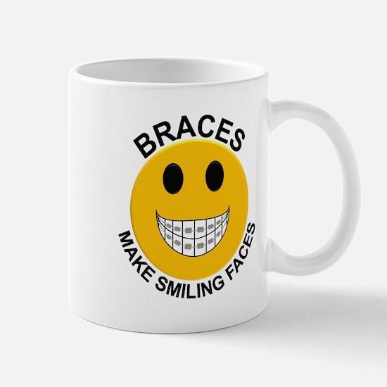 Braces Make Smiling Faces Mug